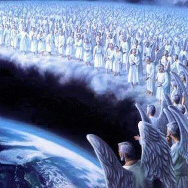 Angels and the great cloud of witnesses