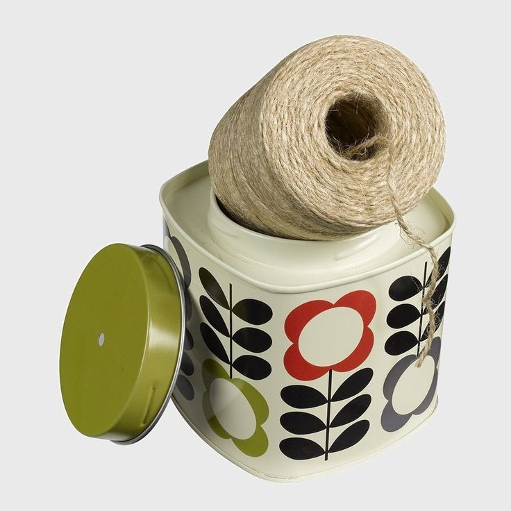 Orla Kiely String In A Tin Wild and Wolf  #mzube #cool #santa #xmas #sale #stocking #shopping #gifts #gift #quirky