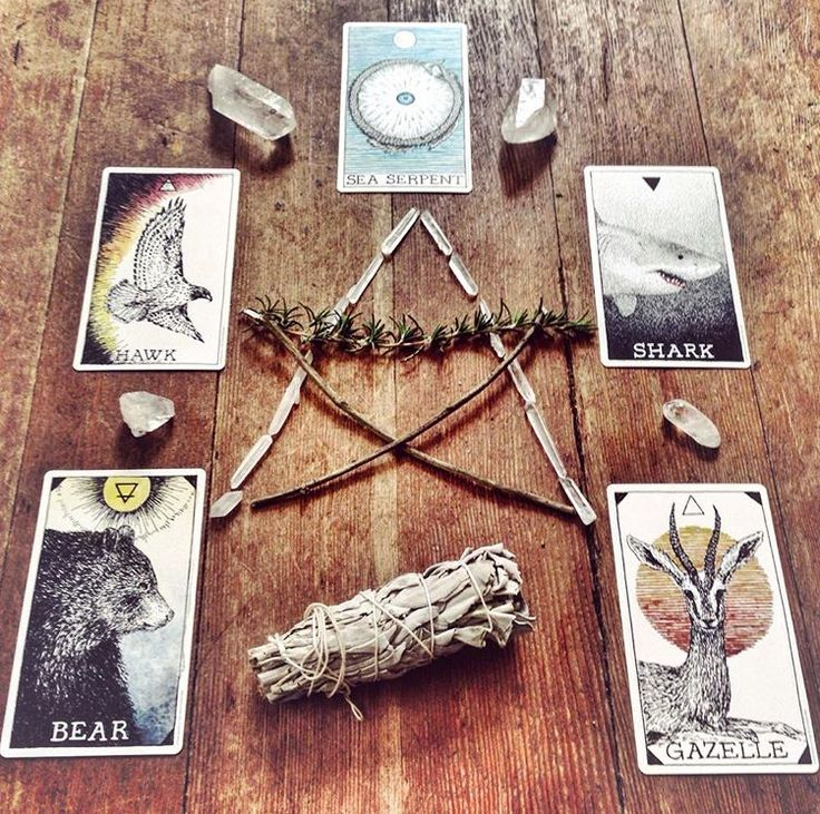 the five element spread | image via @danceofthesoul.tarot.   see the blog for all the details!