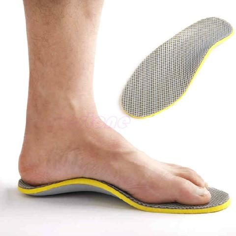 3D Premium Comfortable Orthopedic Insoles for Shoes and plantar fasciitis
