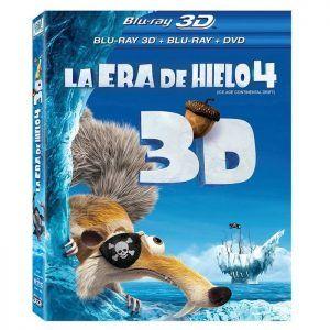 Pelicula La Era de Hielo 4 en 3D
