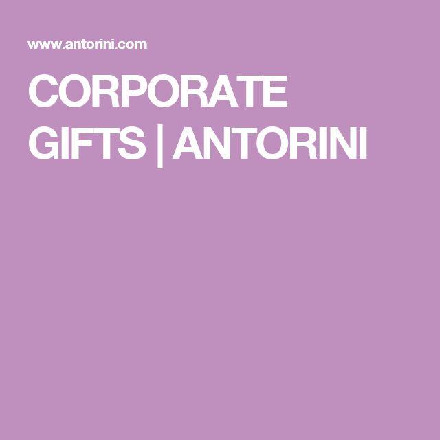 CORPORATE GIFTS | ANTORINI