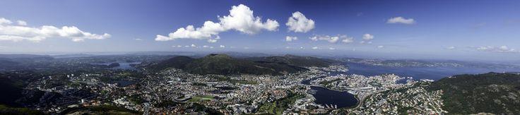 Bergen Panorama by Eirik Sørstrømmen on 500px