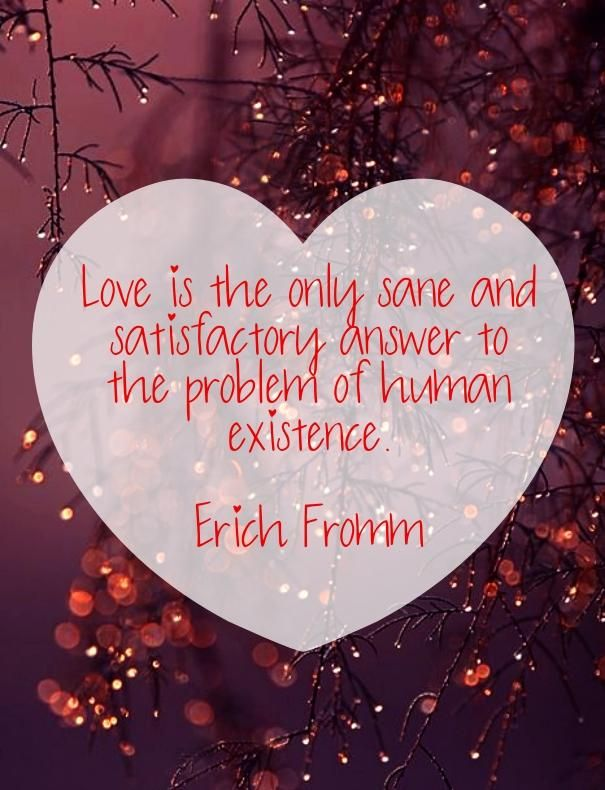 Erich Fromm Quote About Love
