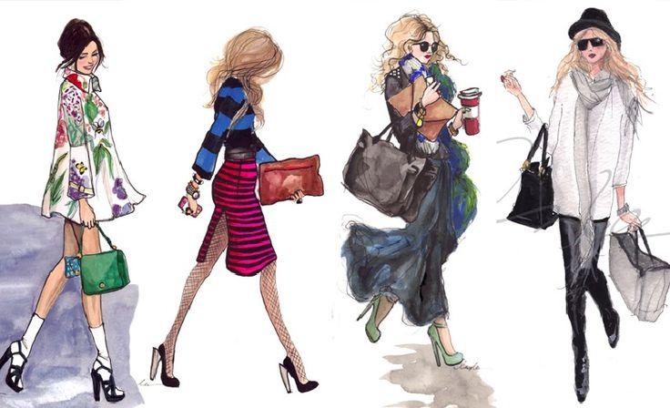 Fashion illustrator Inslee Haynes
