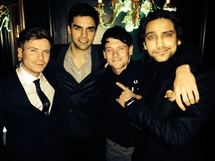 Sean Teale, Luke Pasqualino and others
