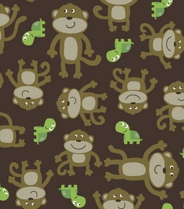 1000 images about flannel receiving blanket curved burp for Baby monkey fabric prints