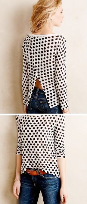 Dappled Dots #anthrofave I feel like I can never have too many dots and stripes.