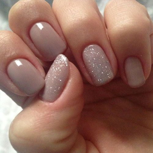 Nude Color Nails – 25 Best Nude Nail Polish Manicures