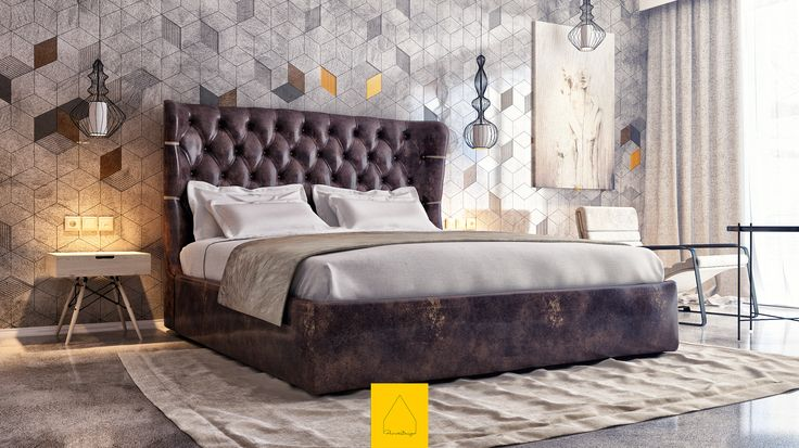 @Behance projeme göz atın: \u201cBedroom No.5\u201d https://www.behance.net/gallery/36249861/Bedroom-No5