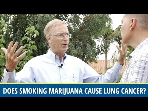 Does Smoking Marijuana Cause Lung Cancer? (video)