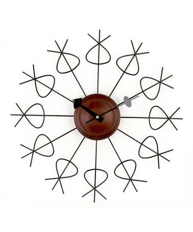 Take a look at this Black Pretzel Wall Clock by Control Brand on #zulily today! $45 !!
