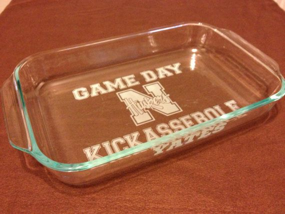 Nebraska Huskers    GAME DAY Kickasserole Baking by UnCorkdArt