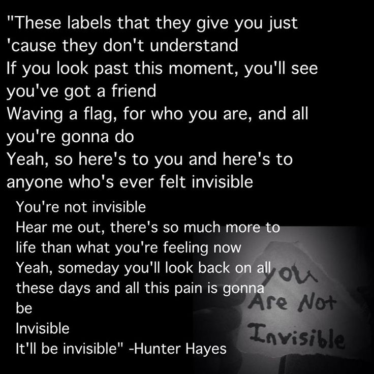 INVISIBLE- HUNTER HAYES. MY FAVORITE SONG EVER! Next To