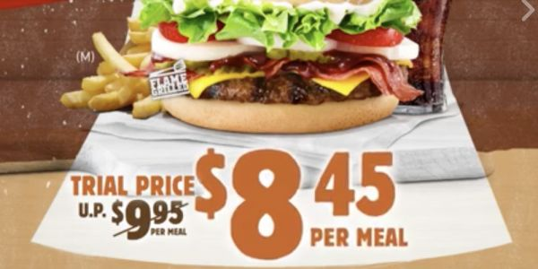 Burger King Flash Post to Enjoy Western Whopper at Trial Price 25 Aug - 7 Sep 2017