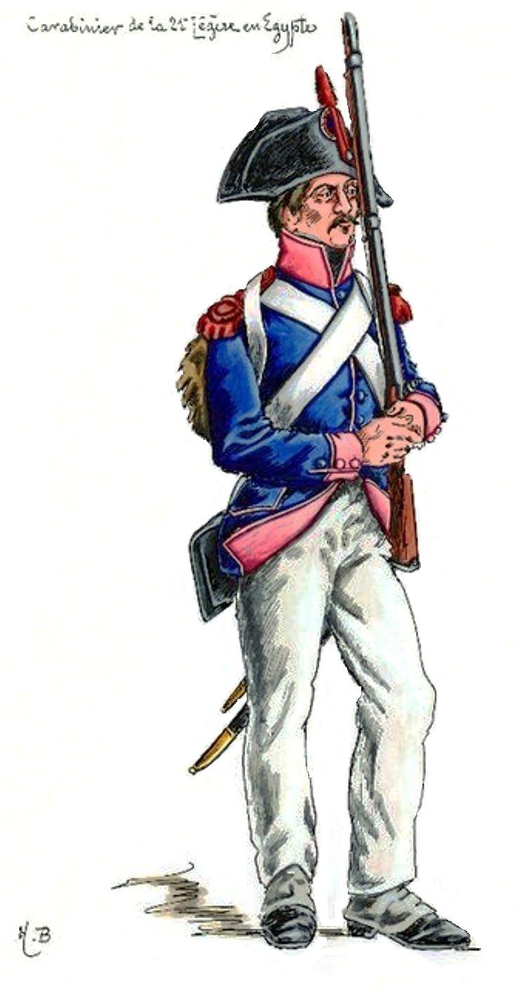 French; 21st Light Infantry Demi-Brigade, Carabiner, Egypt