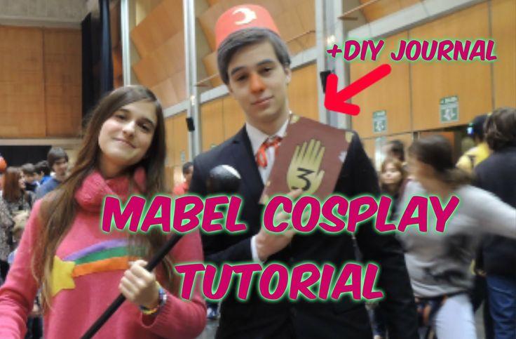 Mabel Cosplay Tutorial + DIY Gravity Falls Journal #mabelpines #mabel #pines #cosplay #cosplaytutorial #gravityfalls #diy #batgirlgo #spain #tutorial #mabelpinescosplay #journal #gravityfalls