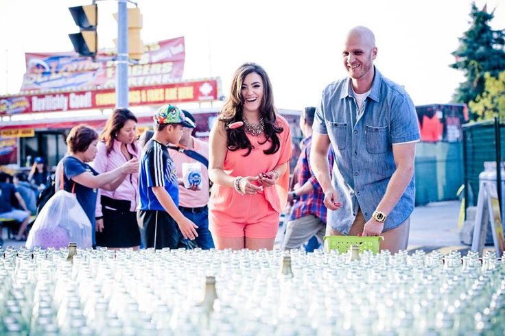 CNE Carnival Engagement Photos Balloons