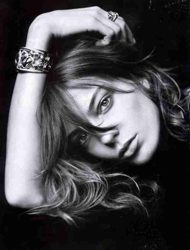 Daria Werbowy by Peter Lindbergh for David Yurman FW 2005 _