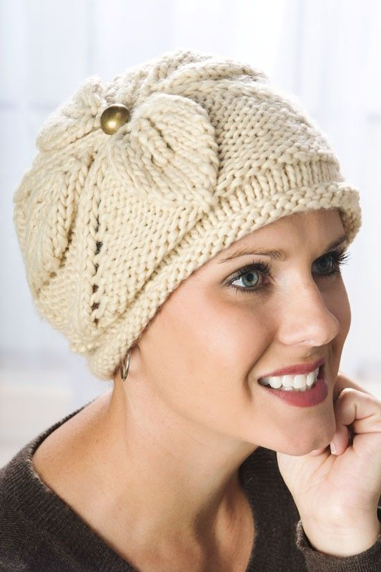 Knitting Pattern For Beanie With Flower : 937 best images about knitting 1. on Pinterest Free ...