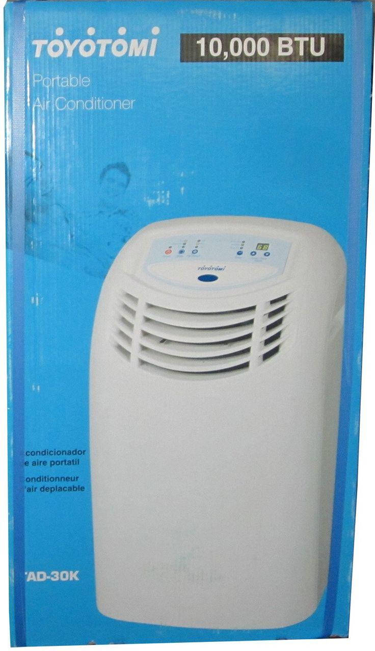 Toyotomi 10000 BTU Portable Air Conditioner WHITE AC