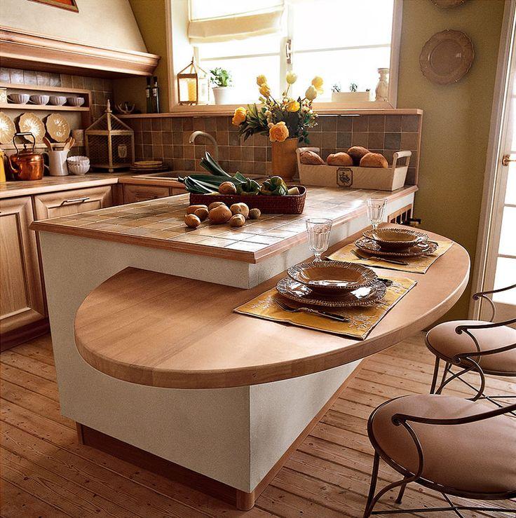 Pi di 25 fantastiche idee su tavolo per cucina ad isola su pinterest tavolo a isola pranzo - Tavolo per cucina piccola ...