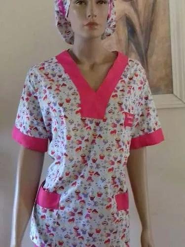 pijama cirúrgico, veterinário, avental, jaleco com touca