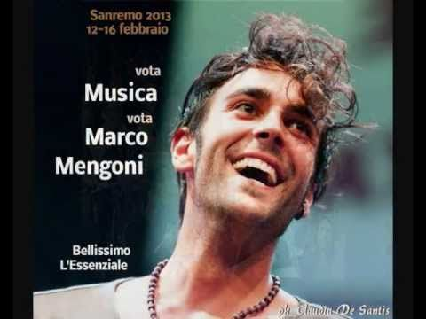 Marco Mengoni @ Verso Sanremo 2013