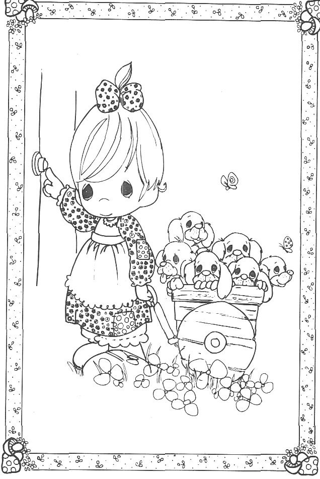 168 best images about precious moment coloring pages on