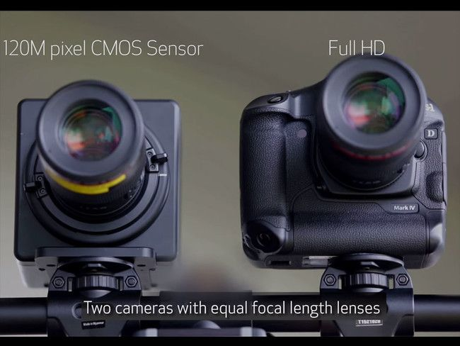 Así es el impresionante sensor de 120 MP desarrollado por Canon  #camera #Canon #EOS #photography
