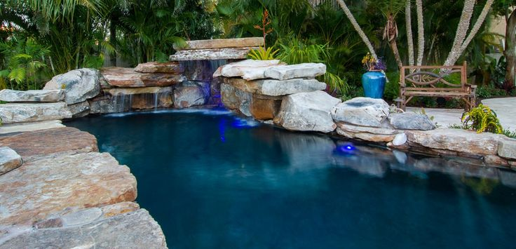 See Us On Insane Pools Off The Deep End Season 1 Episode 1 Swimming With The Fishes Featured Decor Direct Items Include A T Insane Pools Pool Dream Pools