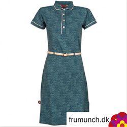 Techno City blå kjole i retrostil fra 4FunkyFlavours