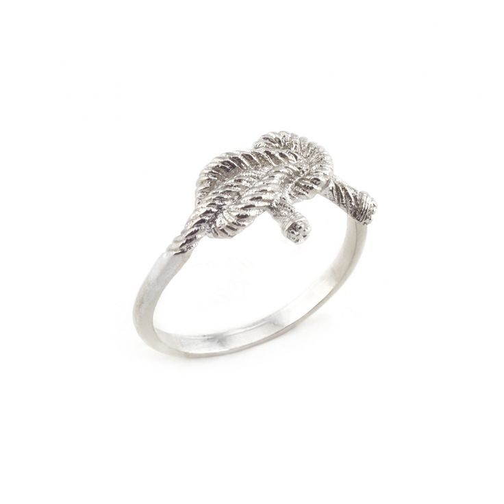 SILVER KNOT RING | Fashion Jewellery