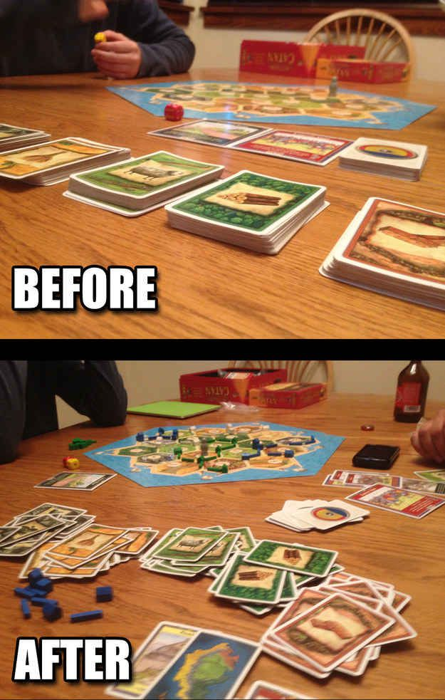 Nerd Alert- 19 Pictures that are too real for people who play Settlers of Catan