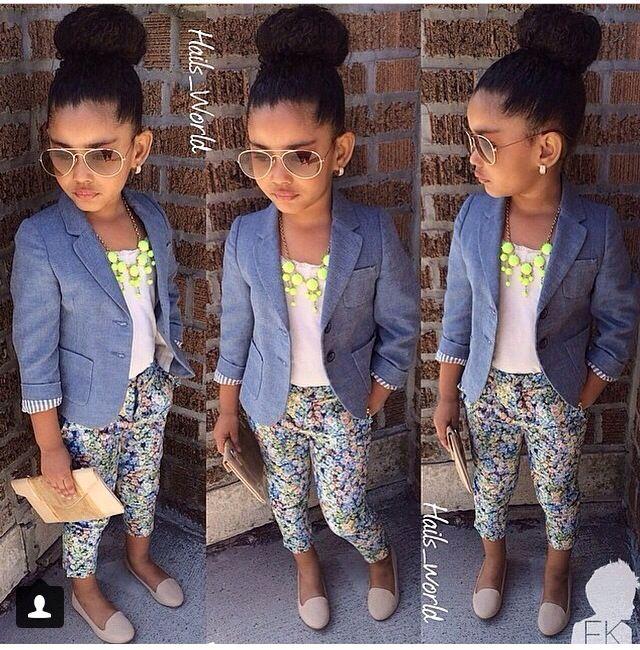 Adorable kids fashion.
