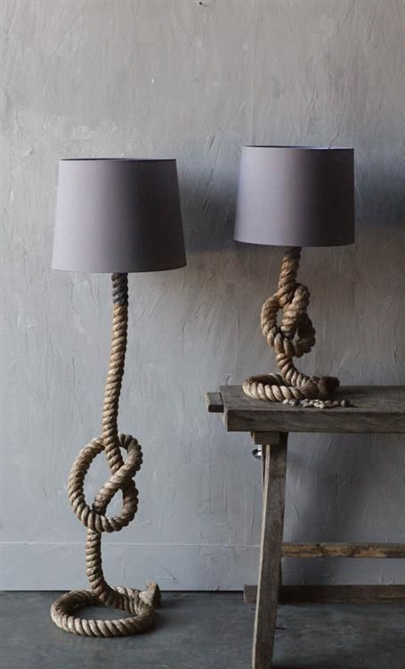 ROPE TABLE LAMP W: GREY LINEN SHADE 2.jpg