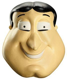 UHC Mens Family Guy Glenn Quagmire Deluxe Funny Cosplay Latex Halloween Mask -- Do you love Family Guy? Then choose this Family Guy costume for halloween! #familyguy
