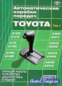 Автоматические коробки передач Toyota. Том 1. Принцип работы, устройство, диагностика и ремонт
