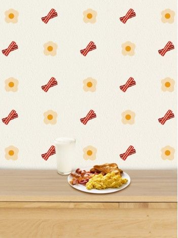 Bacon Wallpaper For House New Designs