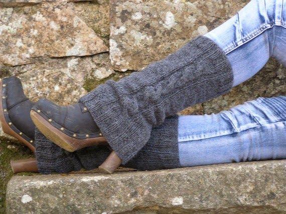 yo elijo coser: DIY: cómo hacer unos calentadores para personalizar tus botas