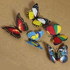 #Banggood Новый 3D бабочки Магнит для дня рождения памяток Холодильник наклейки Свадебные украшения (1077361) #SuperDeals