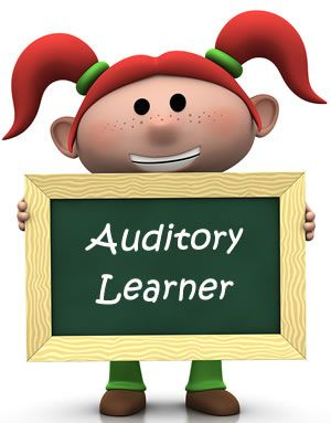 What is my Learning Style: Auditory Learner
