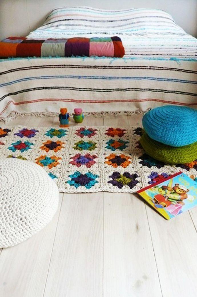 Decoración con crochet