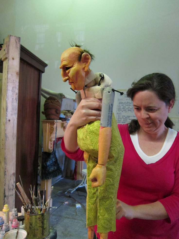 How I Became Invisible | Puppeteer | Puppeteers | Puppet Making | Physical Theatre | Puppet Makers