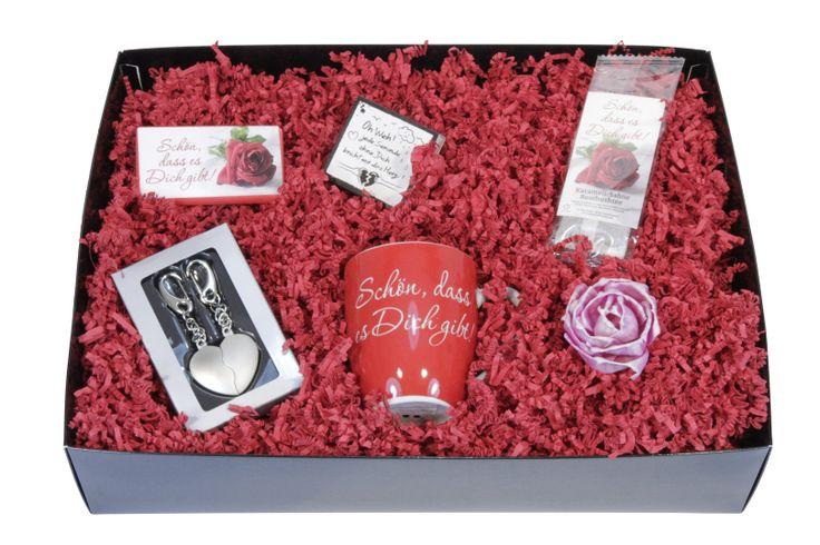 Valentinsbox mit Herz Anhänger - ideas in boxes