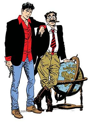 <3 Dylan Dog and Groucho