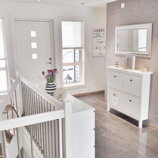 Preciosa casa de estilo n rdico en noruega dise o para for Entradas de casa ikea