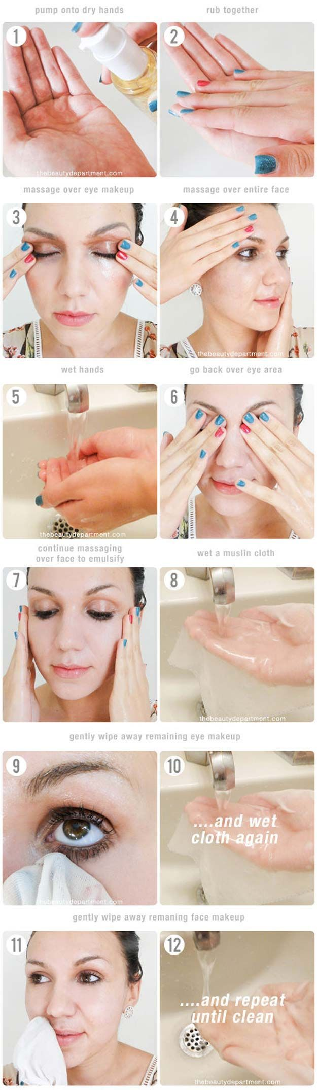 Best Beauty Tips For Teens - How to Use a Facial Cleansing Oil - The Best Products And DIY Make Up Ideas For Losing Weight And Using Eye Makeup For Looking Cute When You Go Back To School. Makeup Ideas Beauty Tips Every Teen Should Know. Beauty Tips For A Faster Morning Routine And Homemade DIY Beauty Tips And Tricks For Teenage Girls. Some Beauty Tips For Face And Glowing Skin And Simple Beauty Tips To Fight Acne And Prevent Breakouts And Blackheads. Get Rid Of Pimples And Acne Scars…