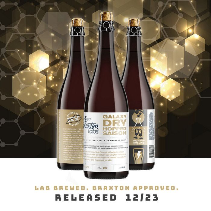 #gettappedin Braxton Labs Galaxy Dry Hopped Saison bottle conditioned with Champagne Yeast 12/23 http://feedproxy.google.com/~r/beerpulse/~3/8TJ70Nc_3yo?utm_source=rss&utm_medium=The+Digital+Marketing+Agency&utm_campaign=RSS