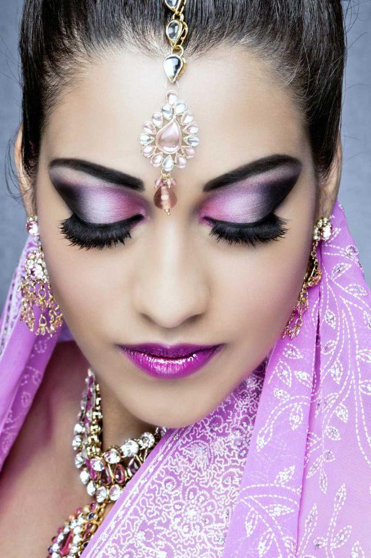 восточный макияж для карих глаз фото живут